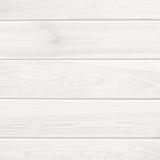 Fondo blanco de la textura del tablón de madera Imágenes de archivo libres de regalías