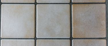 Fondo blanco de la textura de las tejas del marrón del viejo estilo imagen de archivo