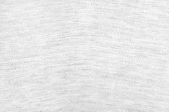 Fondo blanco de la textura de la tela Detalle del material de materia textil imagen de archivo