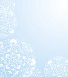 Fondo blanco de los flacks de la nieve Imagen de archivo