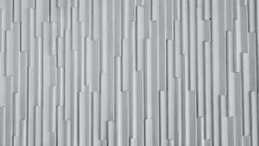 Fondo blanco del gráfico de la pared de la fibra de vidrio del modelo vertical video almacen de metraje de vídeo