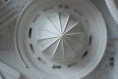 Fondo blanco del Juicer Foto de archivo libre de regalías