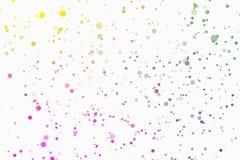 Fondo blanco del parpadeo del confeti libre illustration