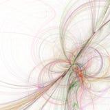 Fondo blanco elegante del fractal Foto de archivo