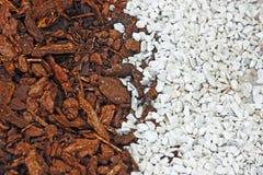 fondo Blanco-marrón Imagen de archivo libre de regalías