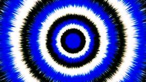 Fondo blanco y azul de la explosión de las rondas Fotos de archivo libres de regalías