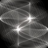 Fondo blanco y negro abstracto Imágenes de archivo libres de regalías