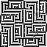 Fondo blanco y negro abstracto, ilustración del vector