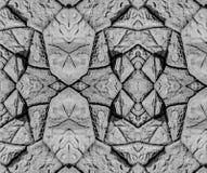 Fondo blanco y negro de la textura de la pared de la piedra caliza Foto de archivo libre de regalías