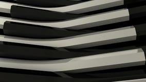 Fondo blanco y negro de las barras de metal Ilustración del Vector