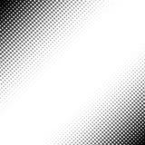 Fondo blanco y negro de semitono abstracto Foto de archivo