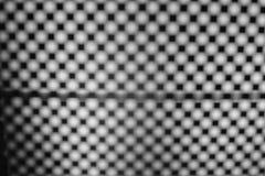 Fondo blanco y negro del moaré Fotografía de archivo libre de regalías