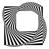 Fondo blanco y negro moderno ilustración del vector