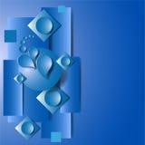 Fondo blu royalty illustrazione gratis