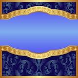 Fondo blu Fotografie Stock