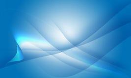 Fondo blu astratto Immagine Stock