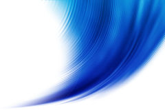 Fondo blu astratto Immagini Stock
