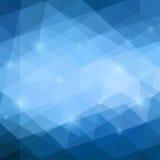 Fondo blu astratto Fotografia Stock