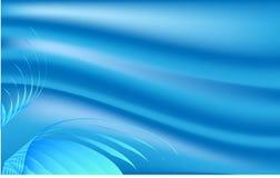 Fondo blu astratto Fotografie Stock Libere da Diritti