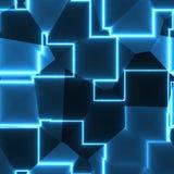 Fondo blu astratto brillante di struttura illustrazione vettoriale