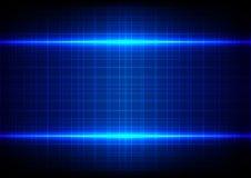 Fondo blu astratto del modello della tavola di effetto della luce Immagini Stock Libere da Diritti