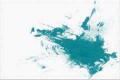Fondo blu astratto della macchia dell'acquerello di tiraggio della mano illustrazione vettoriale