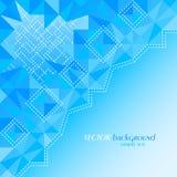 Fondo blu astratto di colore con il posto per il vostro testo Royalty Illustrazione gratis