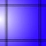 Fondo blu astratto elegante Fotografia Stock