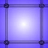 Fondo blu astratto elegante Immagine Stock