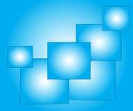 Fondo blu astratto elegante Fotografie Stock
