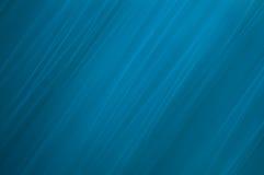 Fondo blu astratto, gocce di acqua di caduta Fotografia Stock