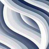 Fondo blu astratto Linee blu luminose Fotografie Stock Libere da Diritti
