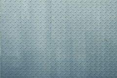 Fondo blu-chiaro di alluminio e dell'acciaio inossidabile Fotografie Stock Libere da Diritti