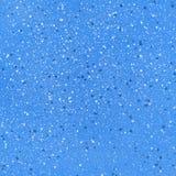 Fondo blu con le particelle Fotografia Stock
