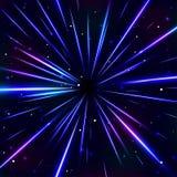 Fondo blu cosmico astratto royalty illustrazione gratis
