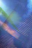 Fondo blu d'ardore astratto Fotografia Stock