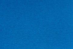 Fondo blu da una materia tessile Immagini Stock Libere da Diritti