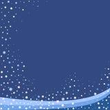 Fondo blu del abstact Immagini Stock