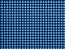 Fondo blu del modello del tessuto Fotografia Stock Libera da Diritti