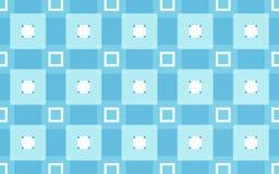 Fondo blu del modello di rettangoli royalty illustrazione gratis