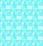 Fondo blu del modello di schema senza cuciture royalty illustrazione gratis