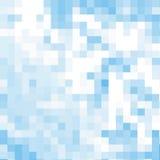 Fondo blu del mosaico del abstrack, Fotografia Stock Libera da Diritti