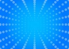 Fondo blu del sole Immagine Stock