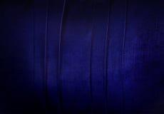 Fondo blu del velluto Fotografie Stock Libere da Diritti