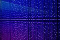 Fondo blu dell'estratto del LED Fotografia Stock