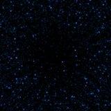 Fondo blu dell'estratto di scintillio della scintilla Fotografie Stock