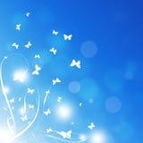 Farfalle della molla Fotografie Stock