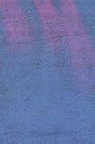 Fondo blu della parete Fotografia Stock