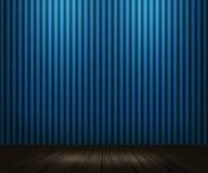 Fondo blu della stanza dell'annata royalty illustrazione gratis