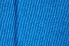 Fondo blu della tela Fotografia Stock Libera da Diritti